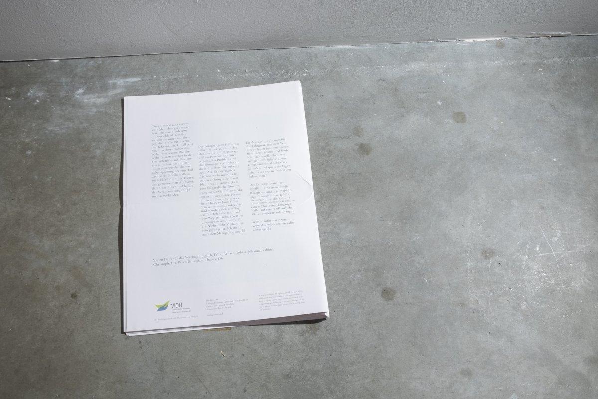 book – das problem sind die sonntage - jann höfer photographer